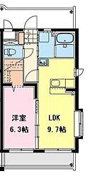 (仮称)永楽町マンション[306号室]の間取り