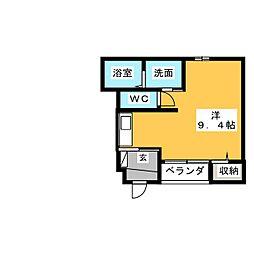 Casa Riko(カサ リコ)[1階]の間取り