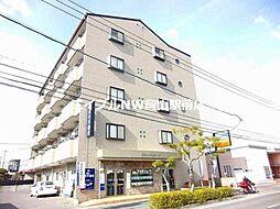 岡山県岡山市北区中仙道1丁目の賃貸マンションの外観