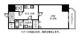 己斐本町KIMURA.BLD三番館、--[1003号室]の間取り