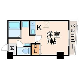 キタノビル[3階]の間取り