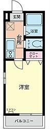 コスモAoi東神奈川[3階]の間取り