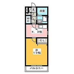 be−full II[1階]の間取り