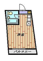 ビアメゾン三井PART22 203号室[2階]の間取り