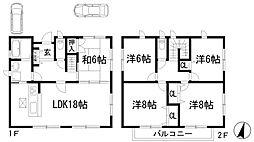 [一戸建] 兵庫県宝塚市寿楽荘 の賃貸【/】の間取り