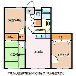 Sepian's TANAKA[3階]の間取り