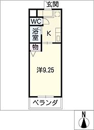 サンパティークII[1階]の間取り