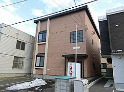 札幌市営南北線 中の島駅 徒歩10分の賃貸アパート