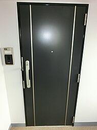 ツイテールの玄関ドア