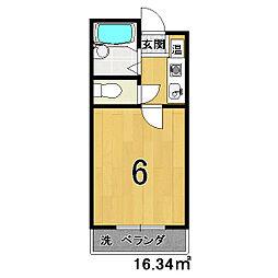 ラ・モンド[3階]の間取り