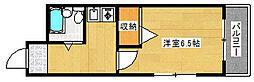 兵庫県神戸市灘区永手町1丁目の賃貸アパートの間取り