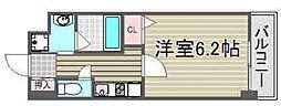グレイスレジデンス大阪WEST[702号室号室]の間取り