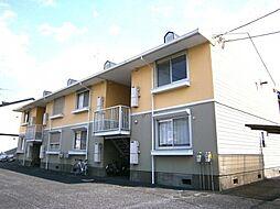 埼玉県春日部市大沼5の賃貸アパートの外観