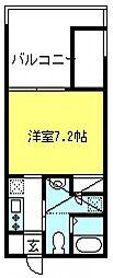 埼玉県さいたま市中央区大戸5の賃貸マンションの間取り