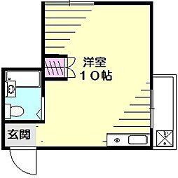レイハウス[4階]の間取り