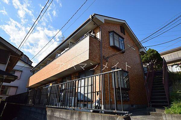 コテージ戸塚[2階]の外観