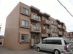 北海道札幌市北区篠路二条2丁目の賃貸マンションの外観
