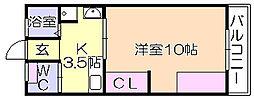 新hajime[203号室]の間取り