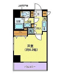 メイクスデザイン田端[601号室]の間取り
