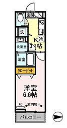 東京都あきる野市秋川3丁目の賃貸アパートの間取り