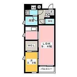 ブラン・スタイル博多[12階]の間取り