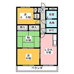 コンフォート悠とぴあ[2階]の間取り