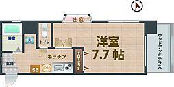 東京都中野区野方2丁目の賃貸マンションの間取り