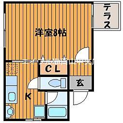 Collage[2階]の間取り