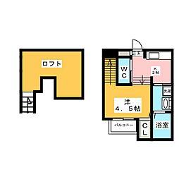 Glanz[2階]の間取り