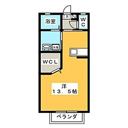 レインボーユウ[1階]の間取り