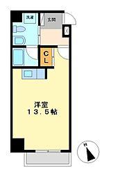 アーデン東別院[8階]の間取り