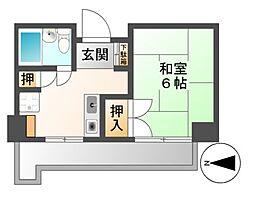 CASA NOAH 名古屋3[5階]の間取り