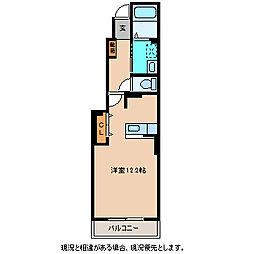 メゾンロータス[1階]の間取り