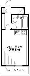 メープルオンザヒル[1階]の間取り