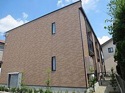 愛知県名古屋市中川区打出町字江西の賃貸アパートの外観