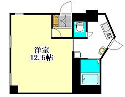 シンエイ第8東船橋マンション[101号室]の間取り