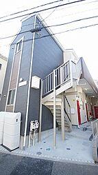 神奈川県横浜市鶴見区下末吉5の賃貸アパートの外観