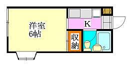 ドリームユーカリ[1階]の間取り