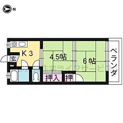 中塚マンション[3-17号室]の間取り