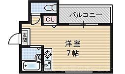 グランsun I[7階]の間取り