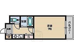 シャトレ豊津1[1階]の間取り
