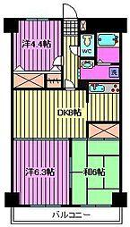 グランシエロ川口本町[7階]の間取り
