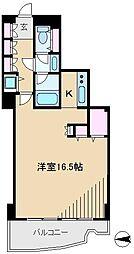 文京グリーンコートビュータワー本駒込[9階]の間取り