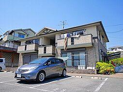 奈良県奈良市千代ヶ丘3丁目の賃貸アパートの外観