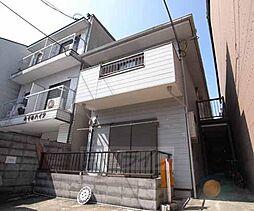 京都府京都市上京区東西俵屋町の賃貸アパートの外観