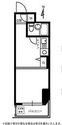 エヴェナール方南町[4階]の間取り