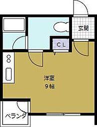 ゼブラ5[5階]の間取り