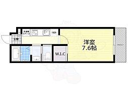 モン・シャトー井の頭公園 2階1Kの間取り