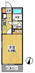 メイデンボヤージュ[1階]の間取り