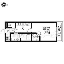 Uni Eterna京都壬生[403号室]の間取り